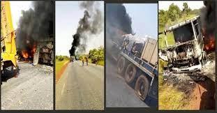 Les propriétaires et conducteurs de gros porteurs interpellent l'Etat sur les attaques armées de leur convoi